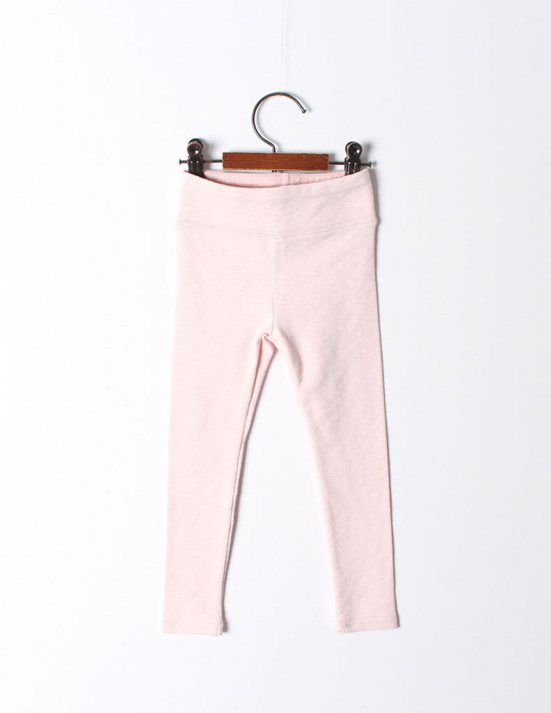 Polka Lined Leggings Pink