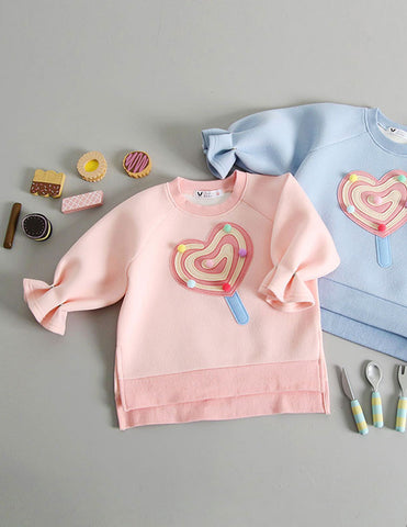 Pom-Pom Lollipop Jumper Pink
