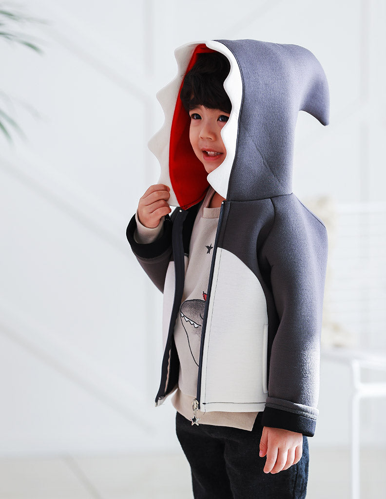 Shark Jacket Grey