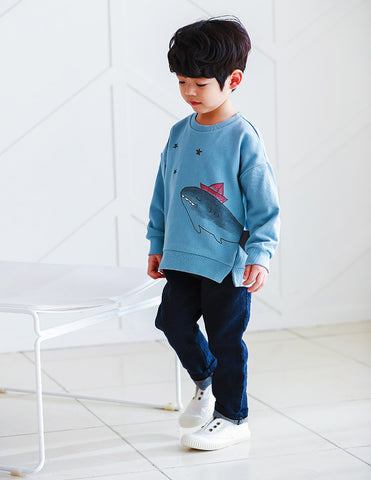 Shark Jumper Blue