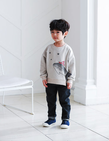 Shark Jumper Grey