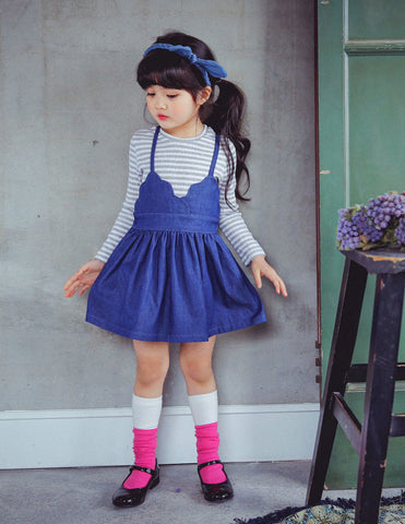 Skater Dress Denim