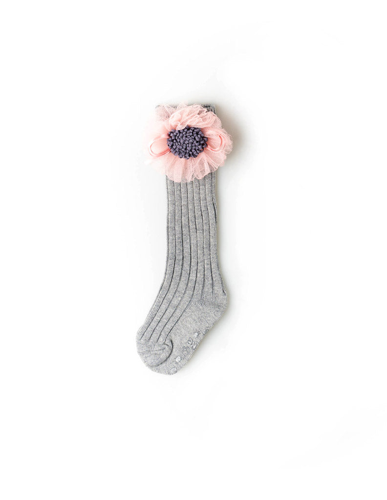Sunflower Knee Socks Grey