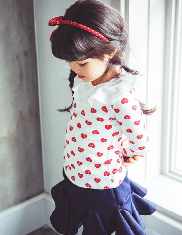 Valentine Blouse White