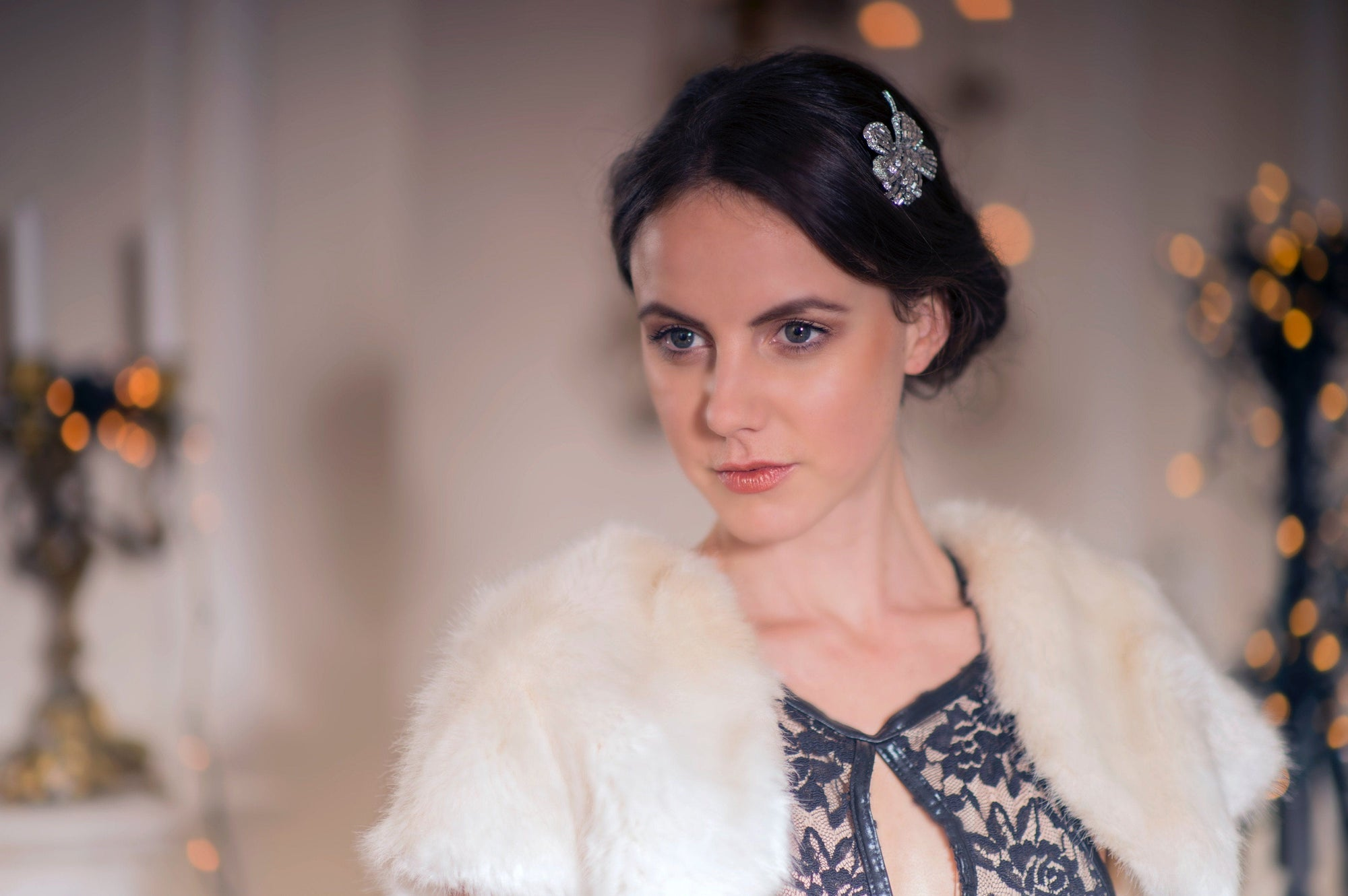 Rosie Fox's Enchanting Vintage Hair Accessories | Tegen Accessories