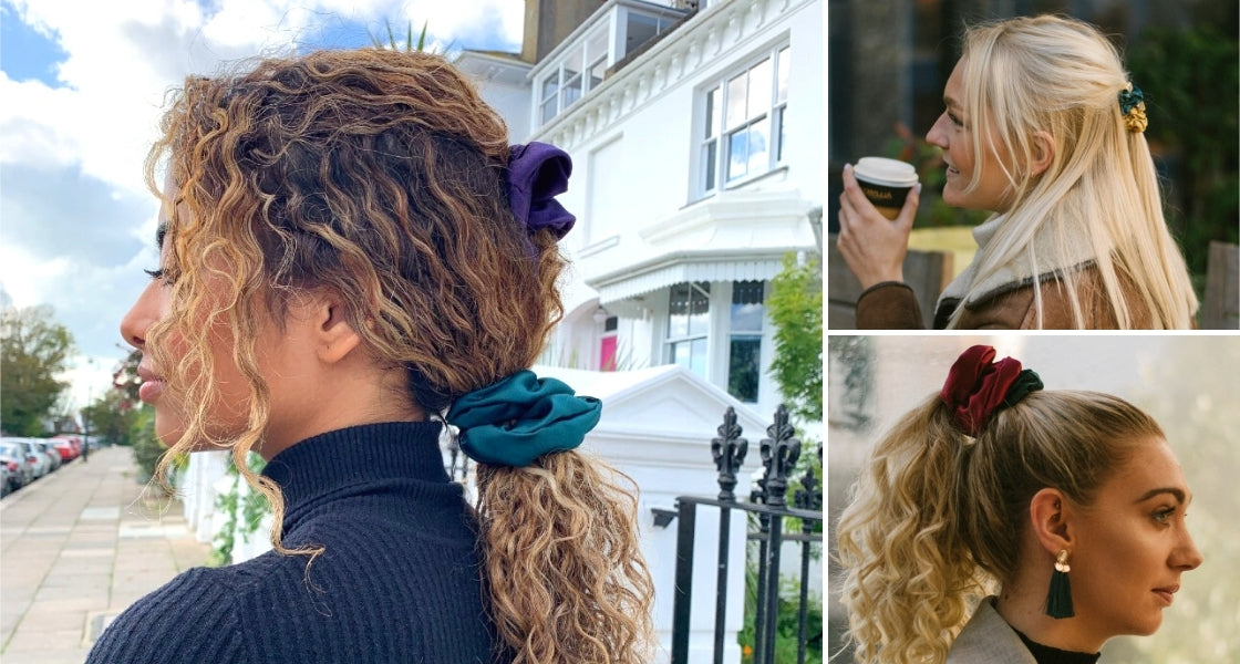 Five Ways To Wear A Scrunchie