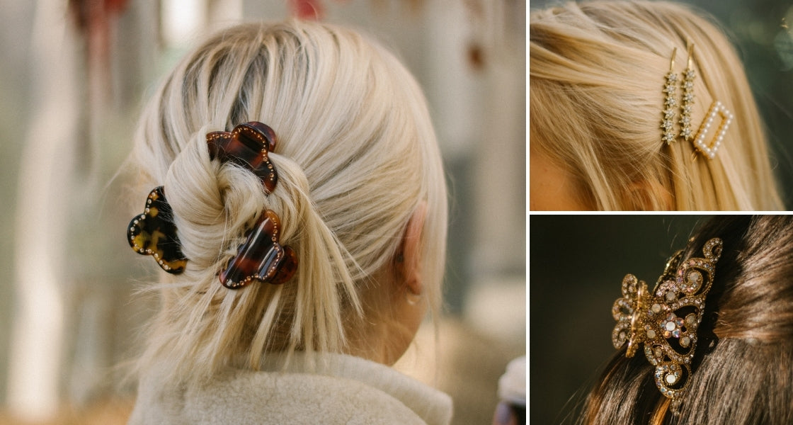 Shine Bright With Crystal Hair Accessories, Even At Home!