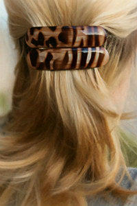 Authentic French Hand Painted Hair Accessories
