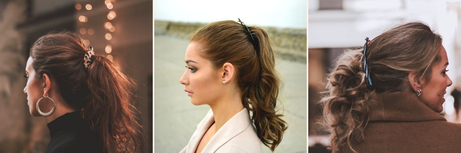 Banana Clip Hairstyles-How to use banana clips-Tegen Accessories