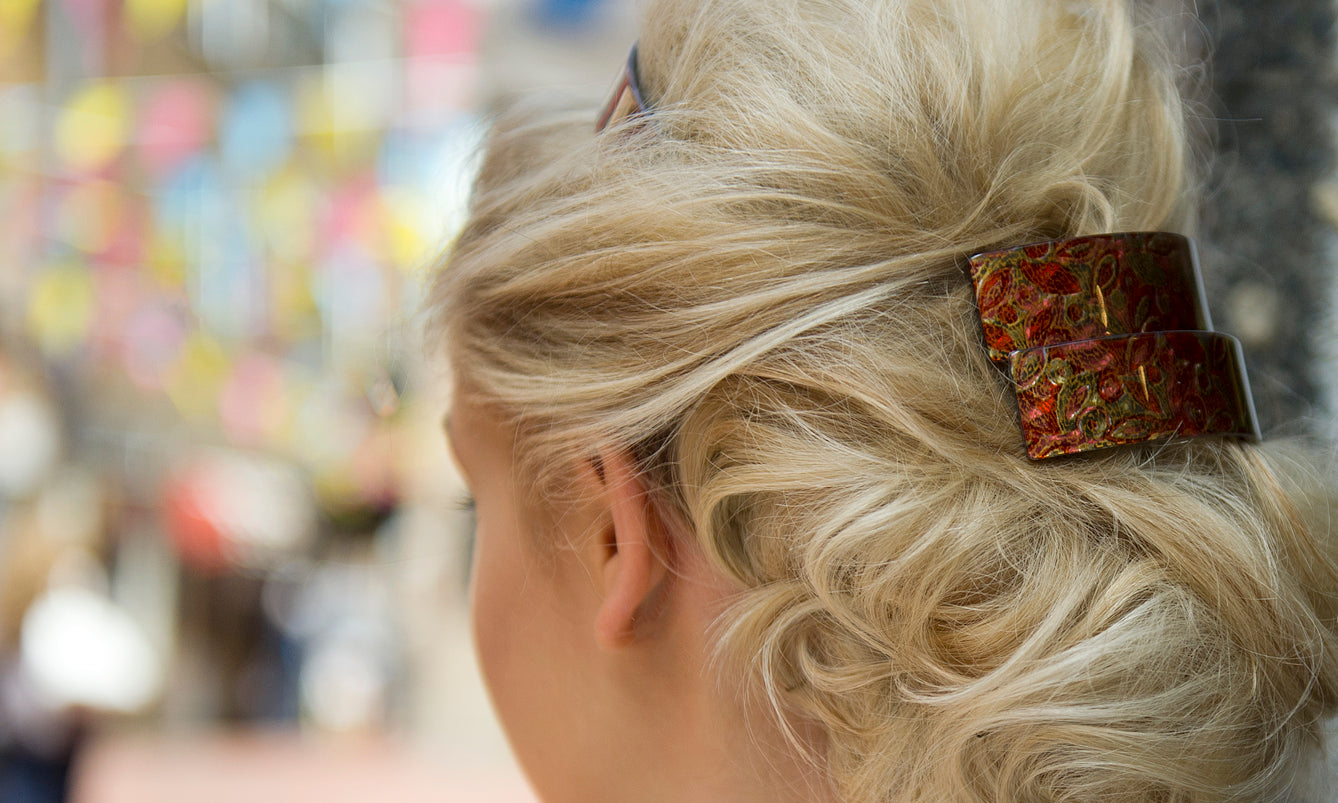 Shop Luxury Hair Barrettes at Tegen Accessories