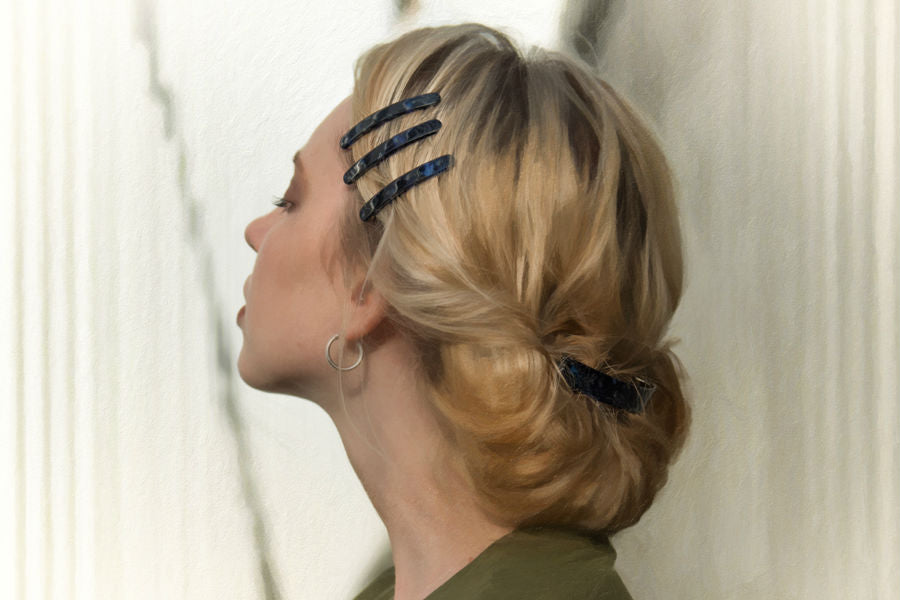 Tort Brown Zig Zag Headband Hair Band Bandeau with Comb Hair Accessories UK