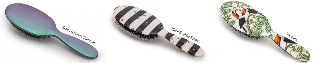 Rock & Ruddle-natrual bristle hairbrush-Tegen Accessories