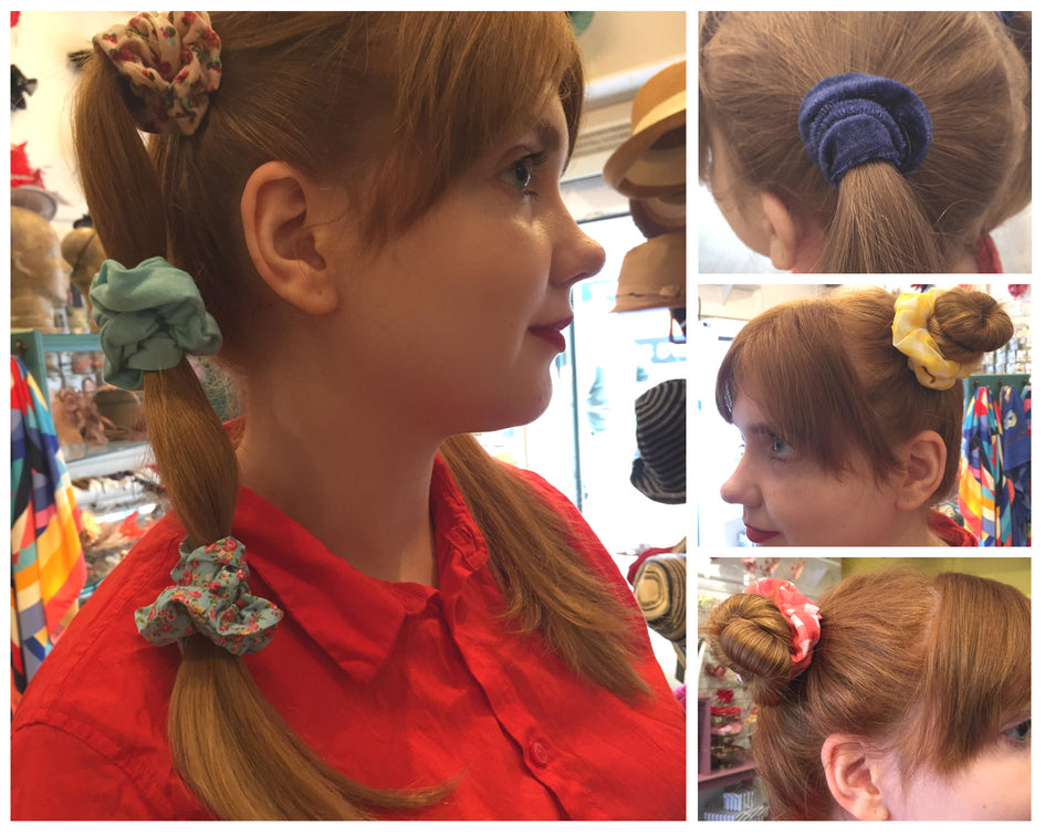 scrunchie hairstyles