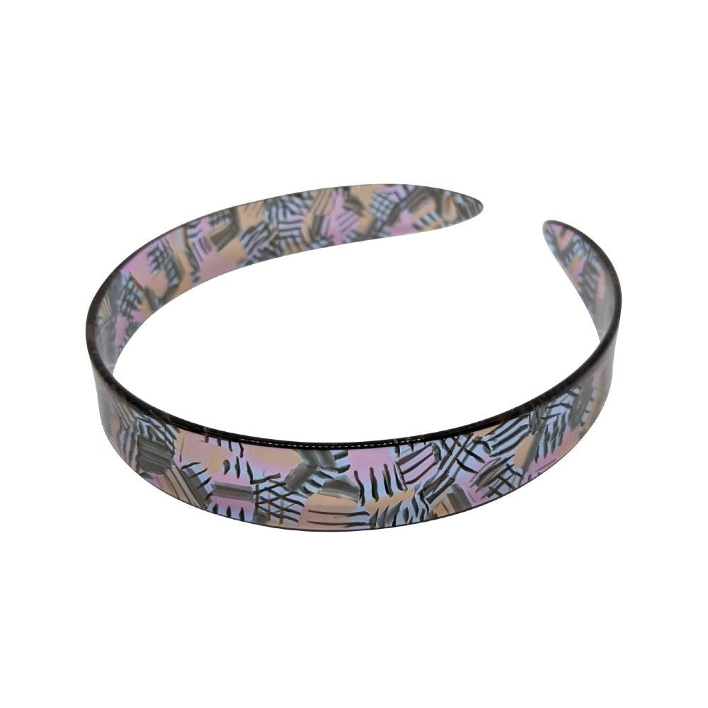 20mm Headband-Headbands-Ooh La La!-Bamboo Orchid-Tegen Accessories Purple