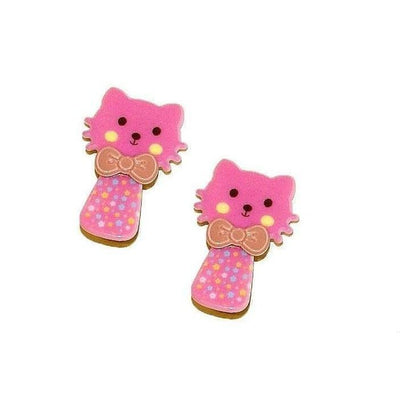 2x Kitten Hair Clips-Discontinued-Hot Pink-Tegen Accessories