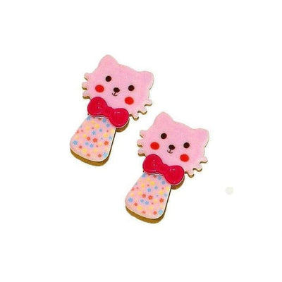 2x Kitten Hair Clips-Discontinued-Pink-Tegen Accessories