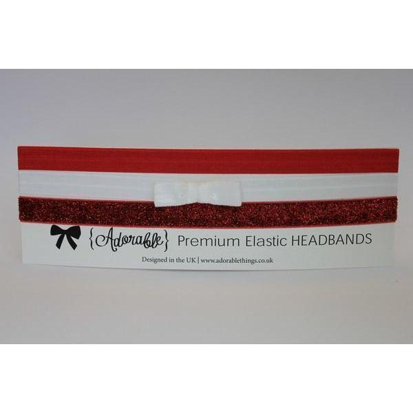 3x Premium Elastic Headbands-Headbands-{Adorable} Things Ltd.-Pink-Tegen Accessories