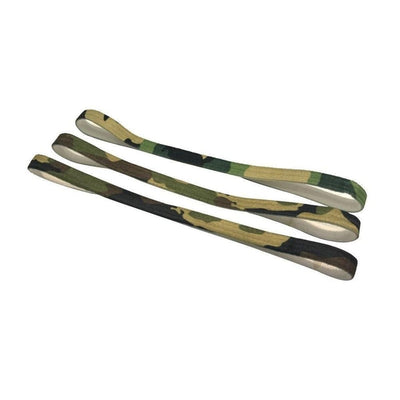 3x Thin Elastic Headbands-Bandeaus-Tegen Accessories-Camouflage-Tegen Accessories