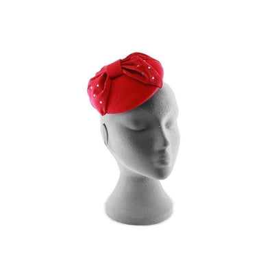 40's Style Hat-Hats-Complit-Red-Tegen Accessories