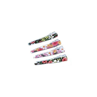 4x Mini Floral Clips-Clips & slides-Children-Purple/Blue-Tegen Accessories