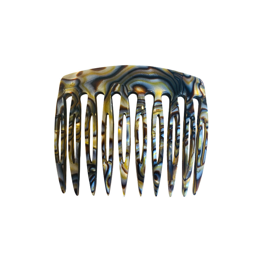 6cm Side Comb-Hair combs-Ooh La La!-Onyx-Tegen Accessories
