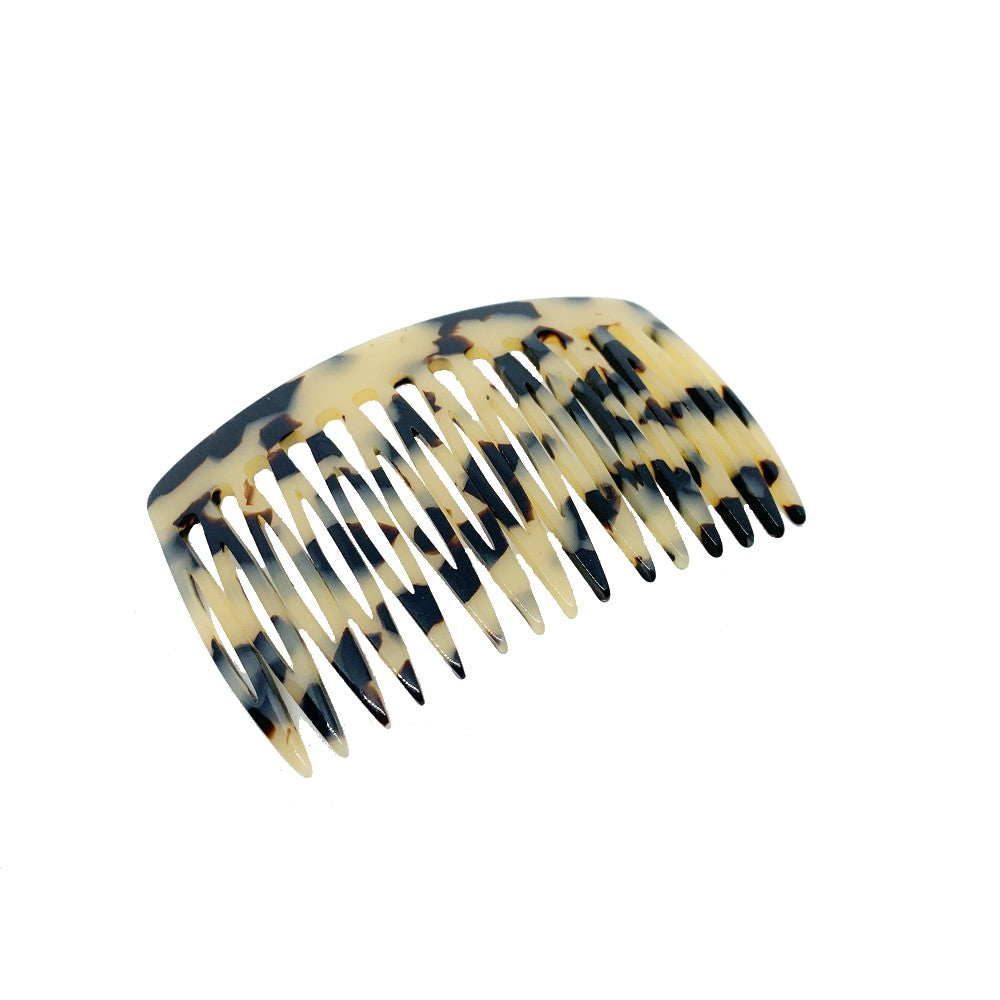 8cm Side Comb-Hair combs-Ooh La La!-Vanilla-Tegen Accessories Cream