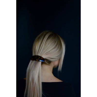 Arched Oval Barrette-Barrettes-Ooh La La!-Tegen Accessories