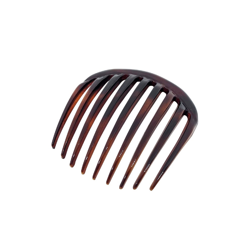 French Pleat Hair Comb-Hair combs-Essentials-Tortoiseshell-Brown-Tegen Accessories Brown