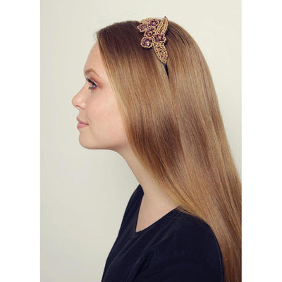 Golden Lilacs Headband-Headbands-Rosie Fox-Tegen Accessories