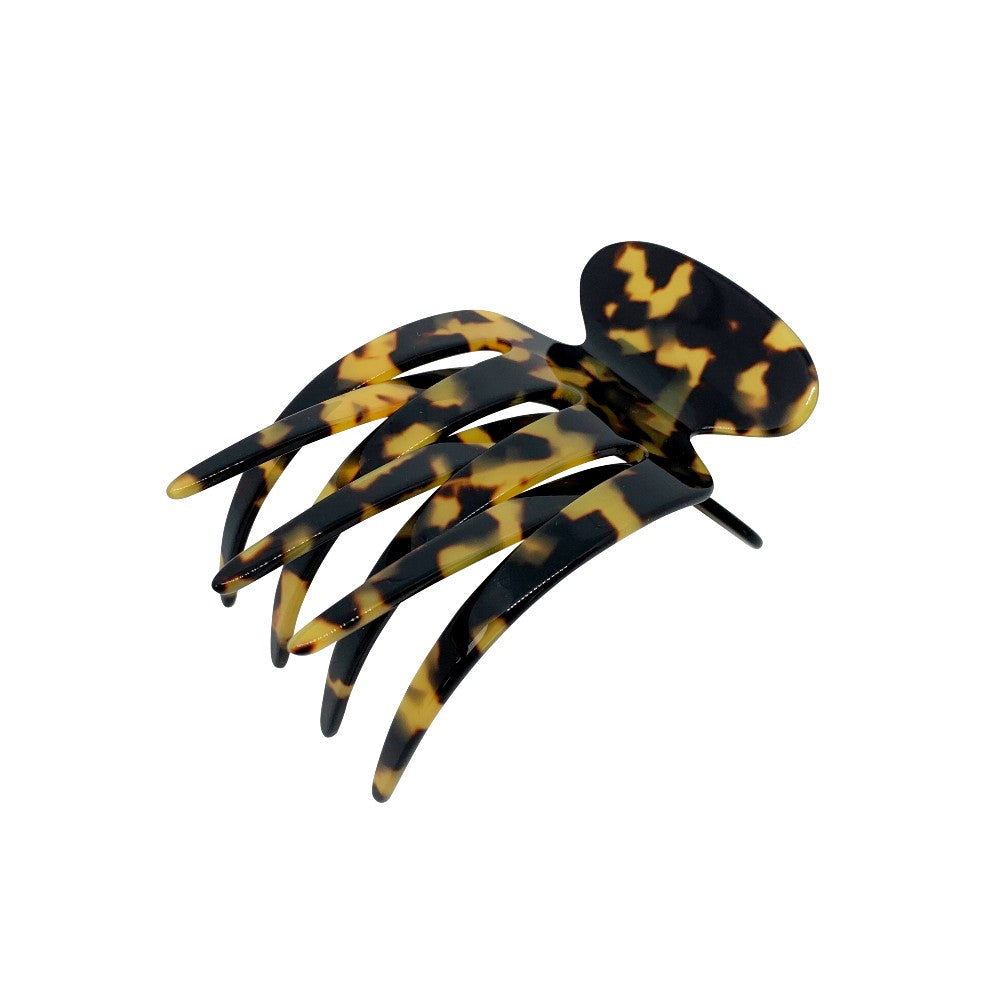 Large Sophia Side Hair Claw-Hair claws-Ooh La La!-Onyx-Grey-Tegen Accessories Grey