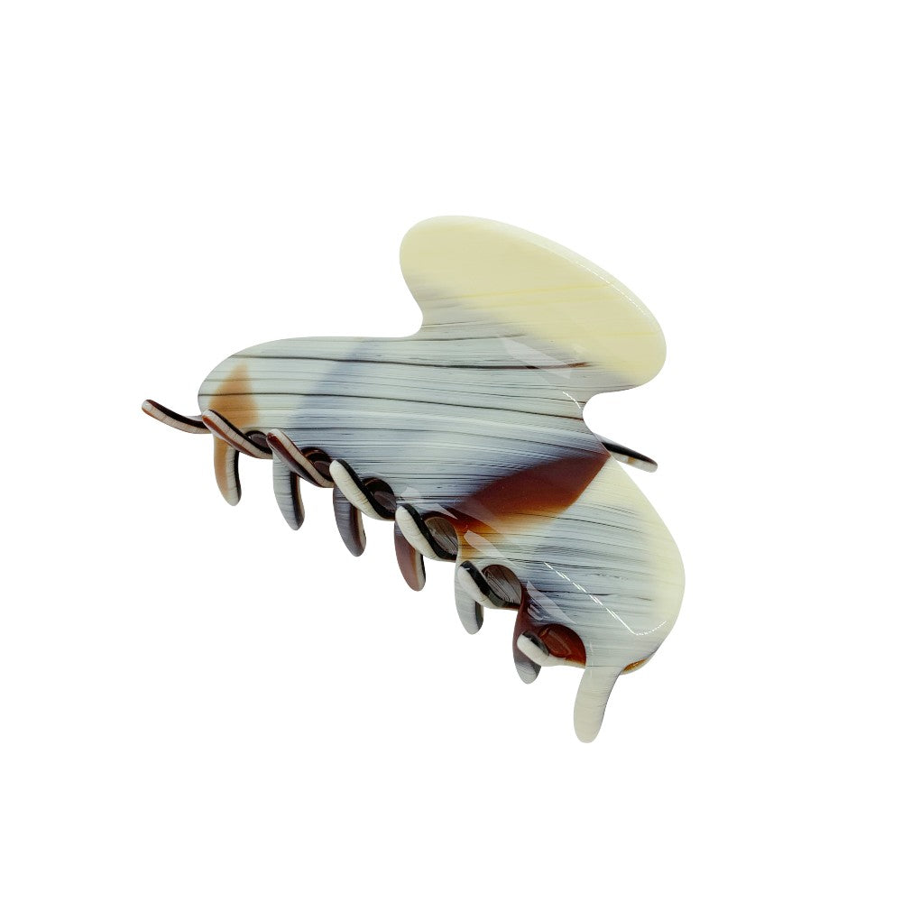 Medium Hair Claw-Hair claws-Ooh La La!-Onyx-Grey-Tegen Accessories Grey