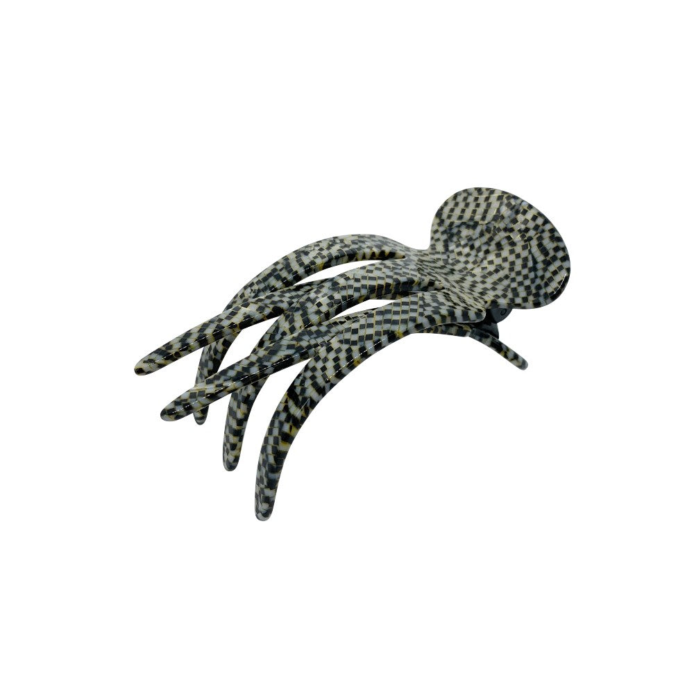 Medium Sophia Side Hair Claw-Hair claws-Ooh La La!-Onyx-Grey-Tegen Accessories Grey