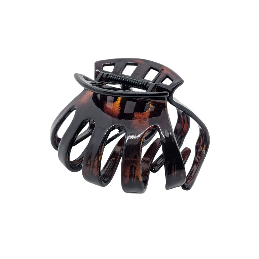Octopus Thick Hair Claw-Hair claws-Essentials-Tortoiseshell-Brown-Tegen Accessories Tortoiseshell Brown