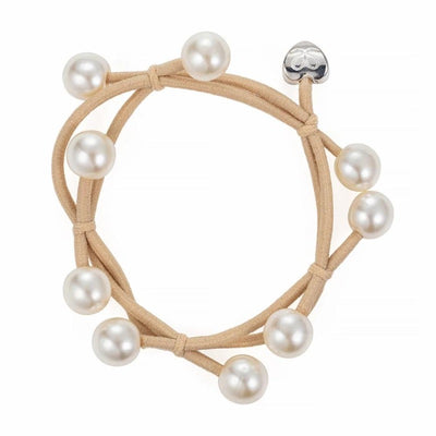 Pearl Cluster Charm Hairband-Elastics-by Eloise-Blonde-Tegen Accessories