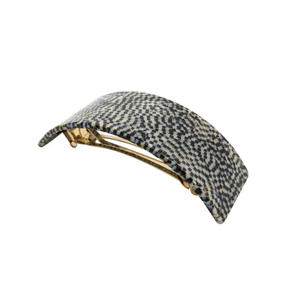 Wide Arched Barrette-Barrettes-Ooh La La!-Prada Style-Tegen Accessories