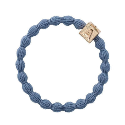 Alphabet Charm Hairband-Elastics-by Eloise-Dove Blue-Tegen Accessories