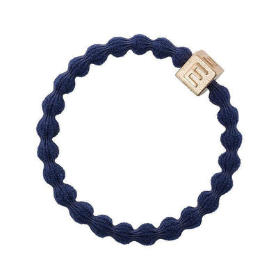Alphabet Charm Hairband-Elastics-by Eloise-Navy-Tegen Accessories