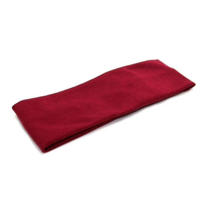 Basic Soft Bandeau-Bandeaus-Tegen Accessories-Burgundy-Tegen Accessories