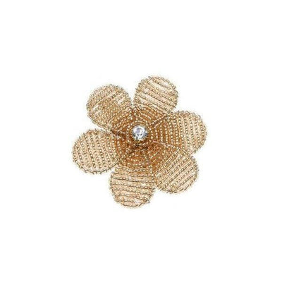 Beaded Blossom Brooch-Brooches-Rosie Fox-Rose Gold-Tegen Accessories