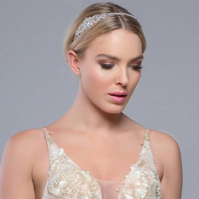 'Beatrice' Crystal Headband-Headbands-Bridal-Tegen Accessories