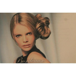 'Bordeaux' Short Bun Hair Piece-Hair extensions-Balmain-Tegen Accessories
