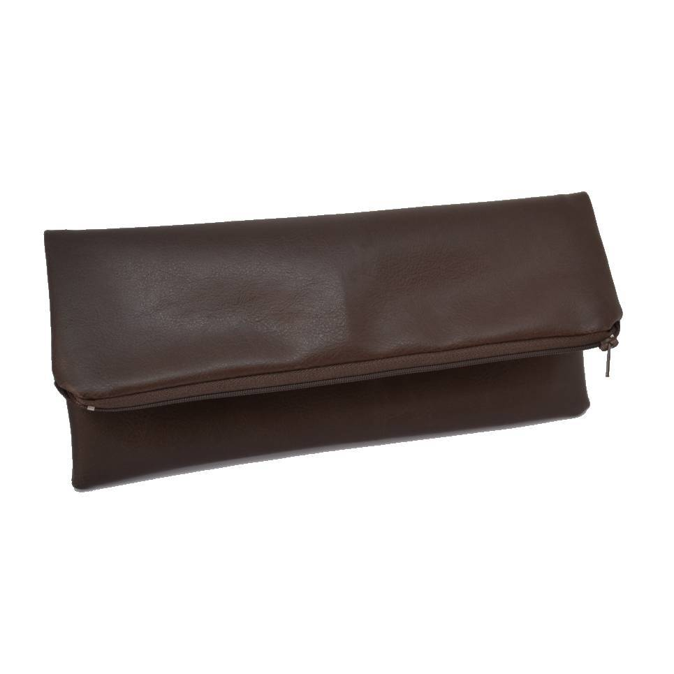 brown-handmade-vegan-leather-clutch-bag-bags-constance-halliday-tegen-accessories Brown