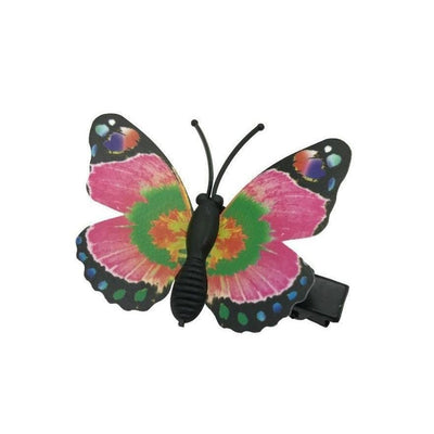 Butterfly Hair Clip-Clips & slides-Children-Pink-Tegen Accessories
