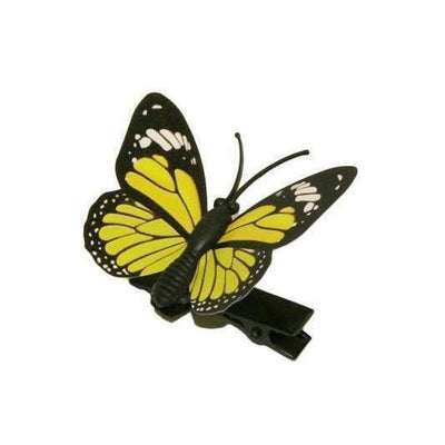 Butterfly Hair Clip-Clips & slides-Children-Yellow-Tegen Accessories