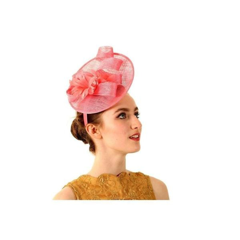Candy Pink Disc Fascinator-Fascinators-Niche Collection-Pink-Tegen Accessories