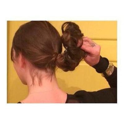 'Cannes' Long Bun Hair Piece-Discontinued-Tegen Accessories
