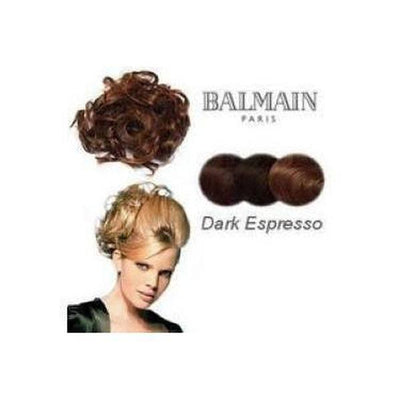 'Cannes' Long Bun Hair Piece-Discontinued-Dark Espresso-Tegen Accessories