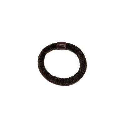 Chenille Hair Elastic-Discontinued-Brown-Tegen Accessories