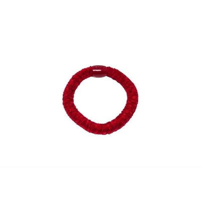 Chenille Hair Elastic-Discontinued-Red-Tegen Accessories