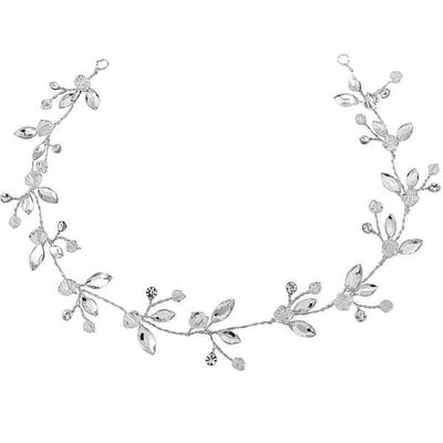 Chic Crystal Hairvine-Hair vines-Bridal-Clear-Tegen Accessories